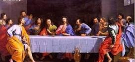 يسوع والعشاء الاخير