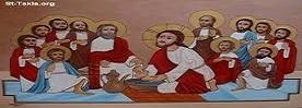 تقرير وصور قداس خميس الاسرار ( الفصح )